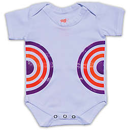 Grip-a-Baby™ Color Burst Non-Slip Bodysuit in White