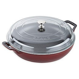 Staub 3.5 qt. Enameled Cast Iron Covered Braiser