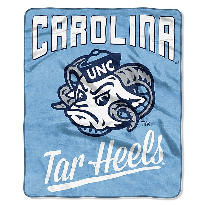 Alternate image 1 for University of North Carolina Raschel Throw Blanket