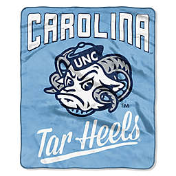 University of North Carolina Raschel Throw Blanket