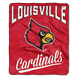 University of Louisville Raschel Throw Blanket