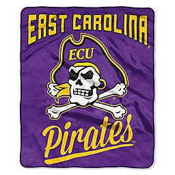 East Carolina University Raschel Throw Blanket