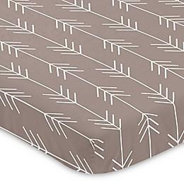 Sweet Jojo Designs® Outdoor Adventure Arrow Print Mini-Crib Sheet