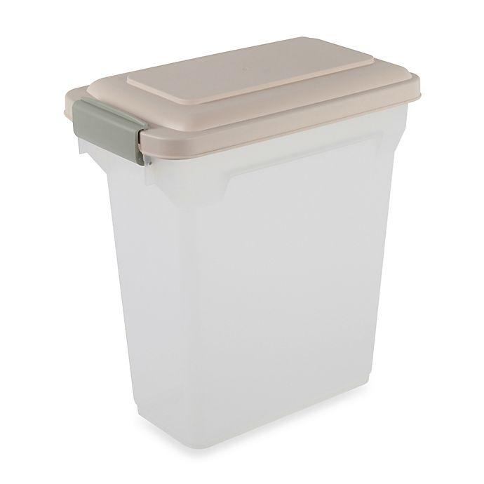 190ce283b892 IRIS® 15 qt. Airtight Pet Food Container | Bed Bath & Beyond