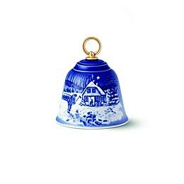 Royal Copenhagen Bling & Grżndahl® 3.5-Inch Christmas Bell in Blue