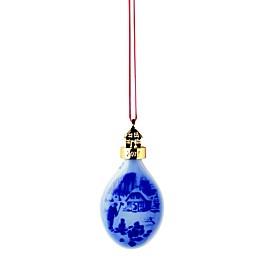 Royal Copenhagen Bling & Grżndahl® 3.75-Inch Christmas Ornament in Blue