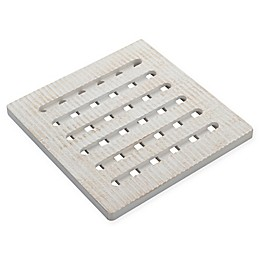 Kamenstein® White-Washed Square Trivet