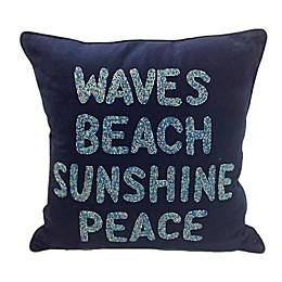 Coastal Throw Pillow Collection