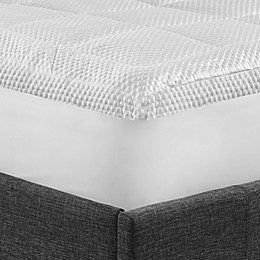 Arctic Chill Gel Cooling Mattress Topper in White