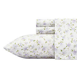 Laura Ashley® Virginia Flannel Sheet Set