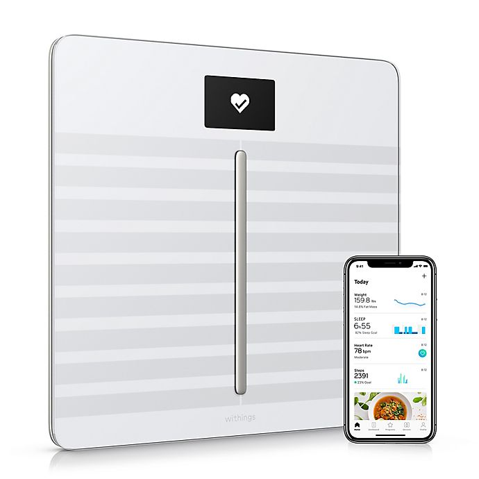 Alternate image 1 for Withings Body Cardio/Body Composition Heart Rate & Wi-Fi Smart Scale with App