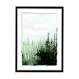 Designs Direct Woods 27-Inch x 20-Inch Framed Deckled Print Wall Art