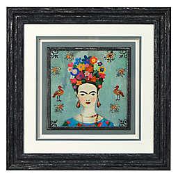 Frida 14-Inch Square Framed Wall Art
