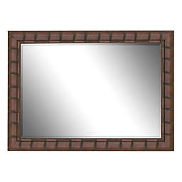 Hitchcock-Butterfield Dynasty 41-Inch x 53-Inch Wall Mirror in Dark Brown