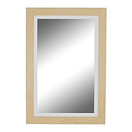 Hitchcock-Butterfield Sundsvall 41.25-Inch x 53.25-Inch Wall Mirror in Maple/White
