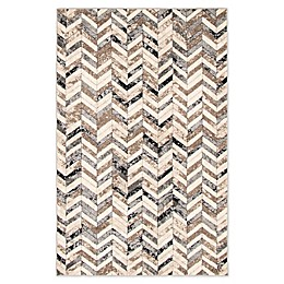 ECARPETGALLERY Timber Area Rug in Grey/Ivory