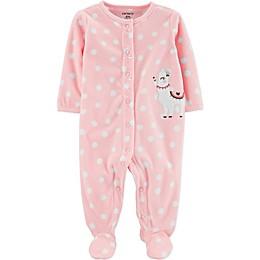 carter's® Preemie Llama Footie in Pink
