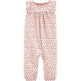 carter's® Floral Romper in Pink
