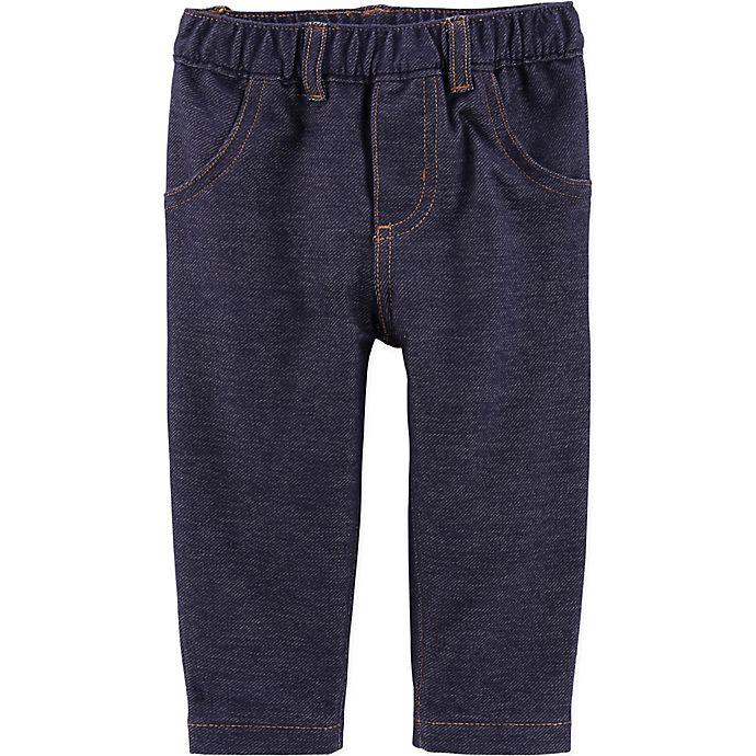 Alternate image 1 for carter's® Stretch Denim Pant