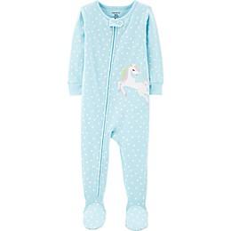 carter's® Pegasus Toddler Footie in Blue