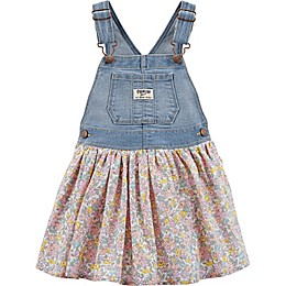 OshKosh B'gosh® Floral Skortall in Denim