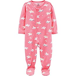 carter's® Pegasus Toddler Footie in Pink