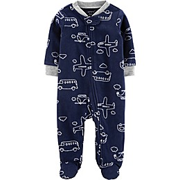 carter's® Preemie Transport Footie in Navy