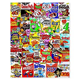 White Mountain Puzzles 1000-Piece Cereal Boxes Puzzle