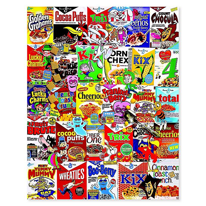Alternate image 1 for White Mountain Puzzles 1000-Piece Cereal Boxes Puzzle