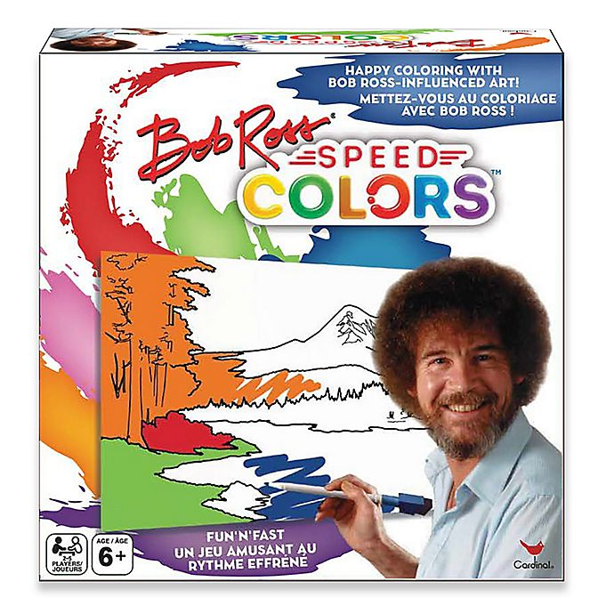 Alternate image 1 for Spin Master™ Bob Ross Speed Colors Game