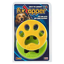 FurZapper® Pet Hair Lint Removers in Yellow/Green (Set of 2)