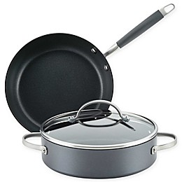Anolon® Advanced™ Home Nonstick Hard-Anodized Aluminum 3-Piece Cookware Set