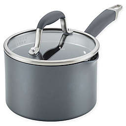 Anolon® Advanced™ Home Nonstick 2 qt. Hard-Anodized Aluminum Straining Saucepan