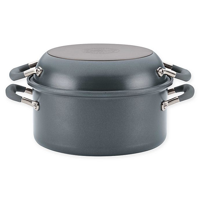 Alternate image 1 for Anolon® Advanced™ Home Nonstick Hard-Anodized Aluminum Two-Step Meal Set