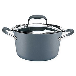 Anolon® Advanced™ Home Nonstick Hard-Anodized Aluminum 4.5 qt. Covered Saucepot