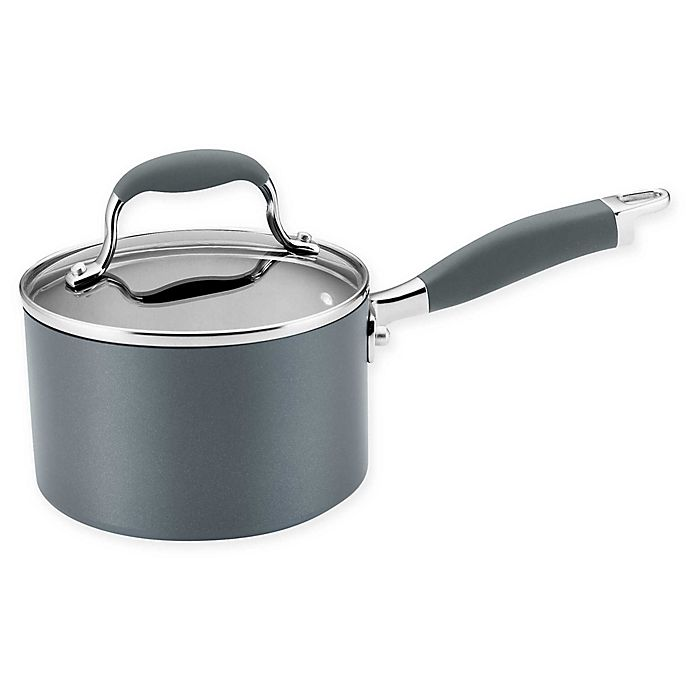Alternate image 1 for Anolon® Advanced™ Home Nonstick 2 qt. Hard-Anodized Aluminum Saucepan