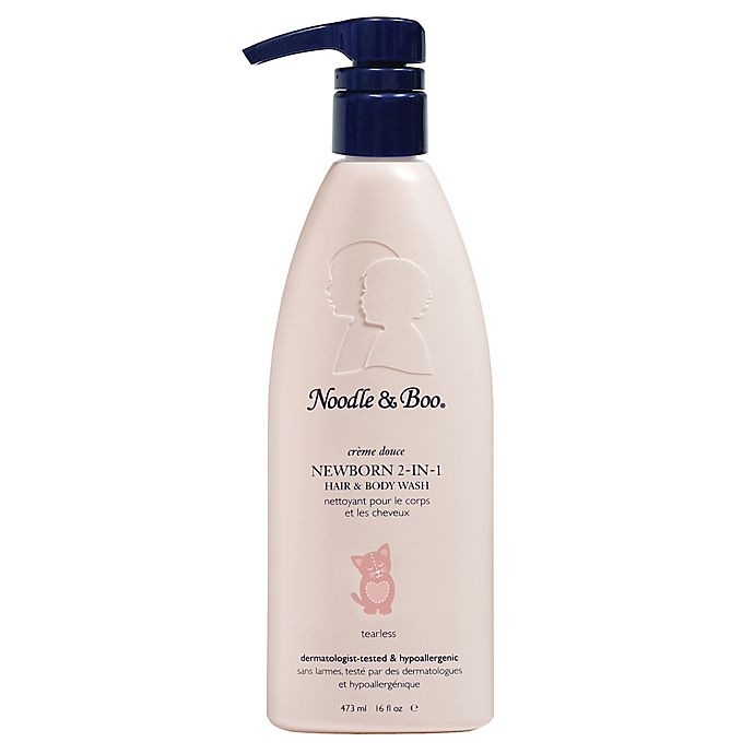 Alternate image 1 for Noodle & Boo® Newborn 16 fl. oz. 2-in-1 Hair & Body Wash