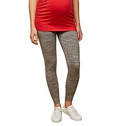 Motherhood Maternity® Secret Fit Belly Space-Dye Legging in Grey
