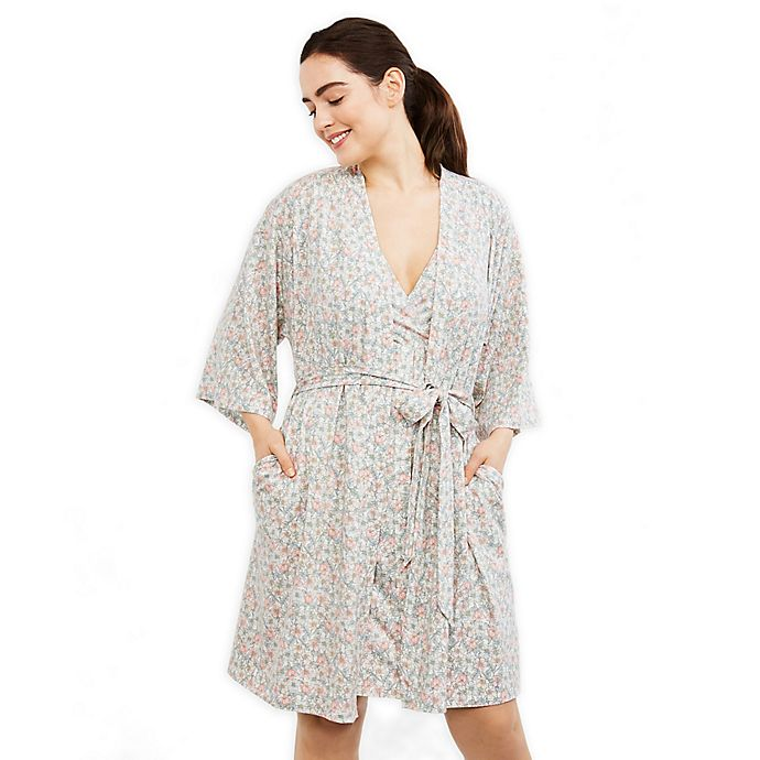 Alternate image 1 for Motherhood Maternity® Delivery Maternity Robe