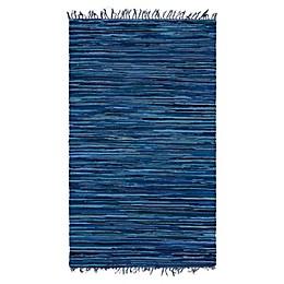 Unique Loom Chindi Stripe Braided Area Rug