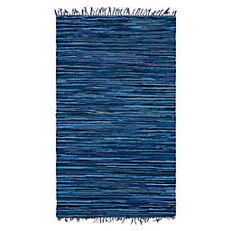 Unique Loom Chindi Stripe Braided Area Rug