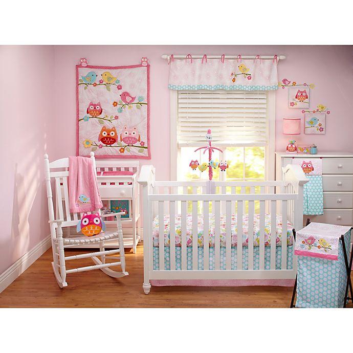 Alternate image 1 for NoJo® Love Birds 4-Piece Crib Bedding Set