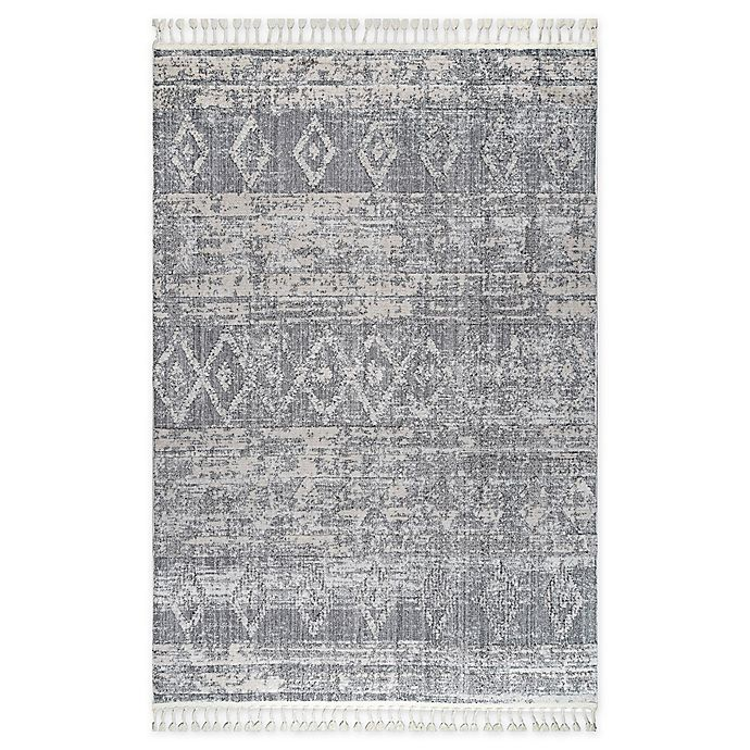 Alternate image 1 for nuLOOM® Devonte Area Rug in Grey