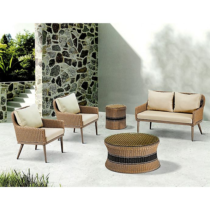 Alternate image 1 for Madison Park® Venice Outdoor Furniture in Natural