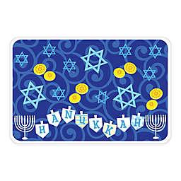 Hanukkah Vinyl Placemat