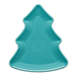 Fiesta® Tree-Shaped Plate in Turquoise