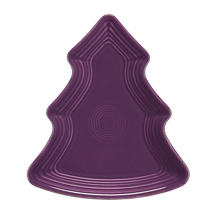 Alternate image 1 for Fiesta® Tree-Shaped Plate in Mulberry