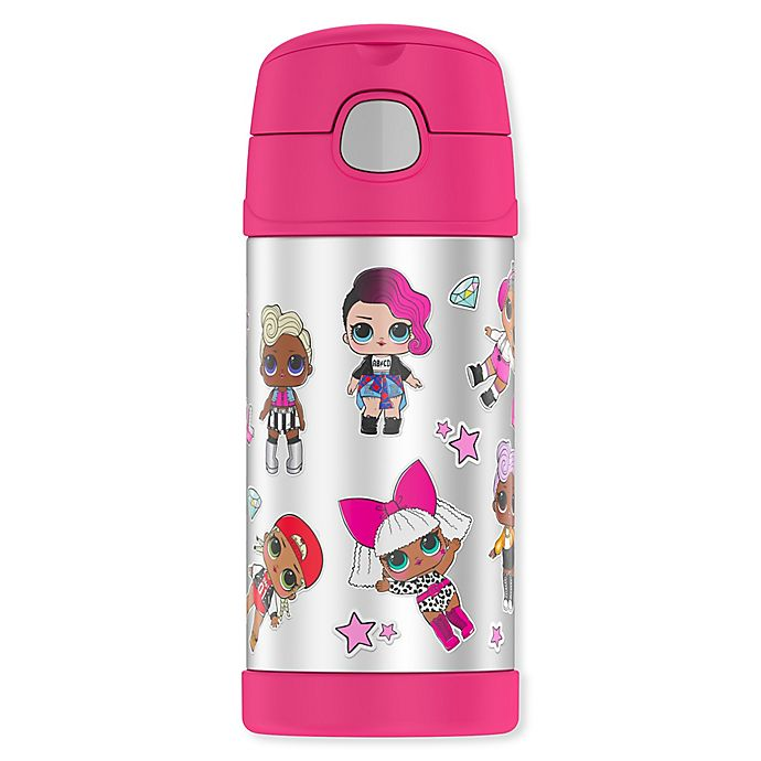 Alternate image 1 for Thermos® LOL Surprise! 12 oz. Funtainer Bottle in Pink