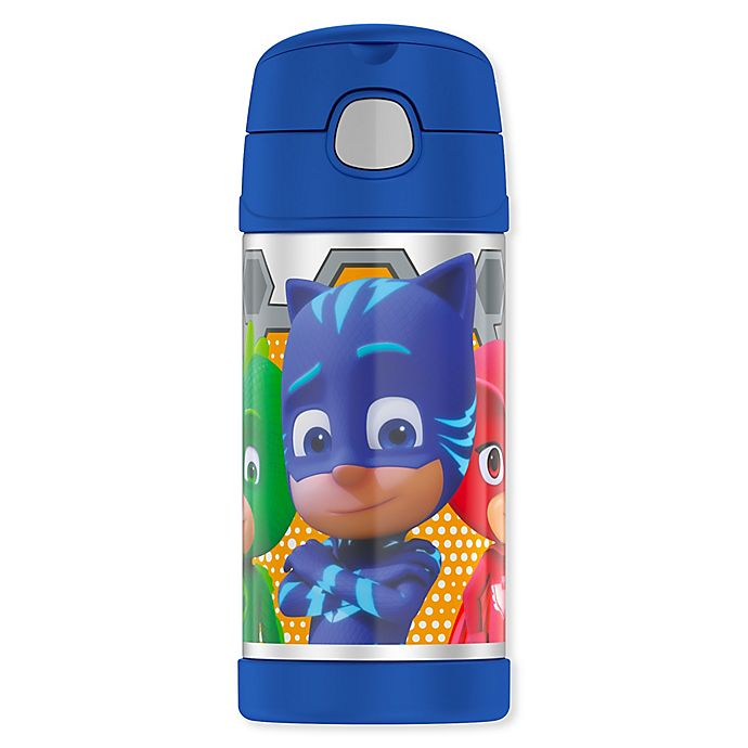 Alternate image 1 for Thermos® PJ Masks 12 oz. Funtainer Bottle in Blue