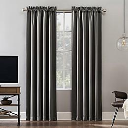 Sun Zero® Oslo Rod Pocket Total Blackout Curtain Panel